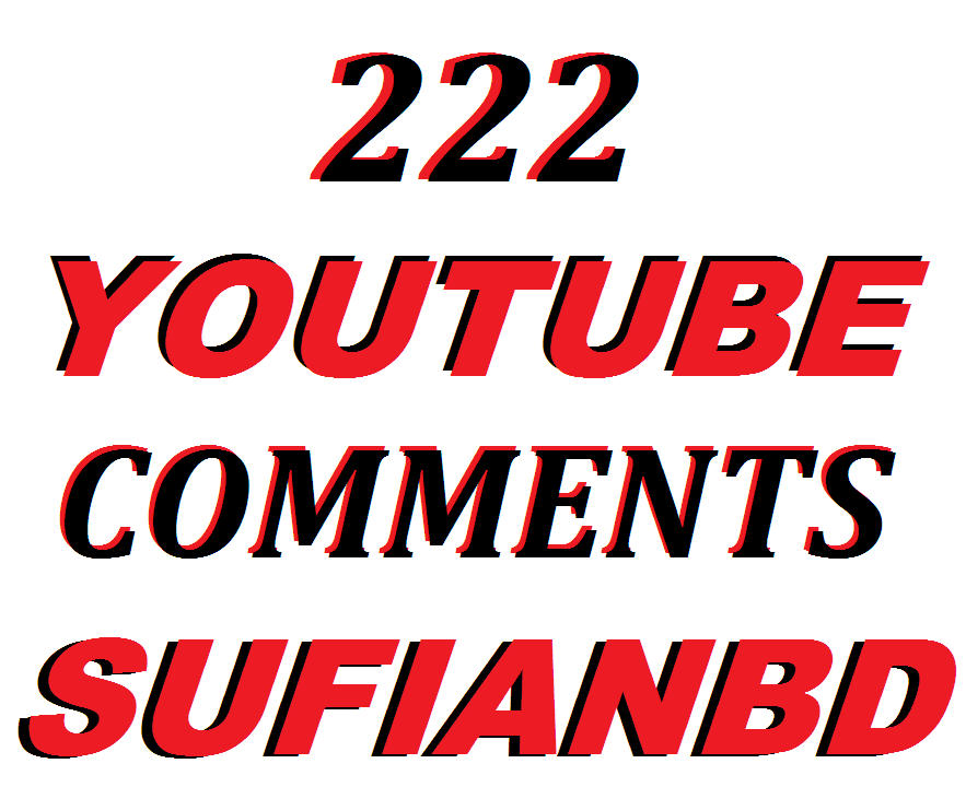 222 YouTube Custom Comments In Your Video