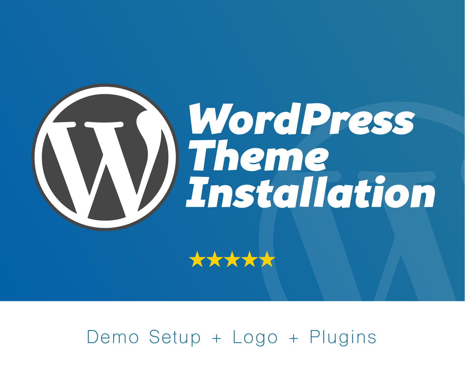 Install Wordpress, Theme, Plugins, And Secure It
