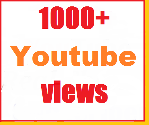 1000+ to 1200+ Youtube Views High Quality Instant start