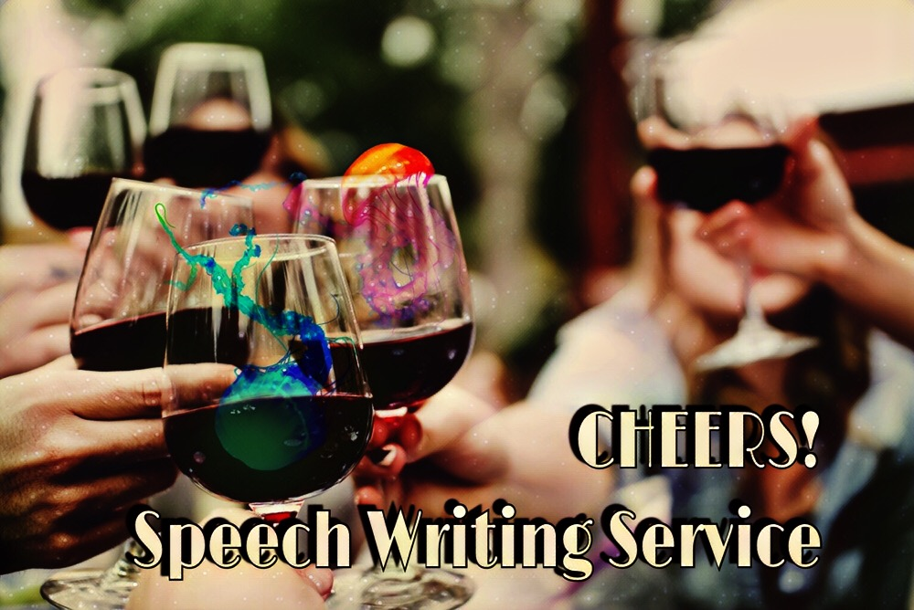 CHEERS! Speech Writing Service