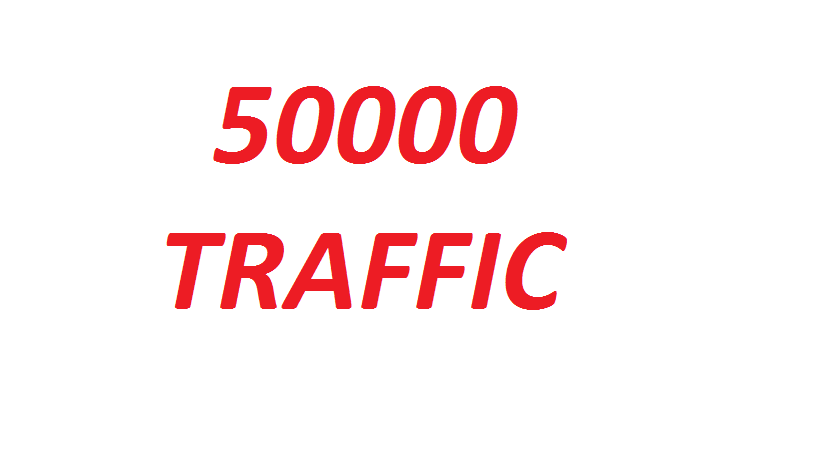 50000 Real Traffic / Visitors Service From Several Sources