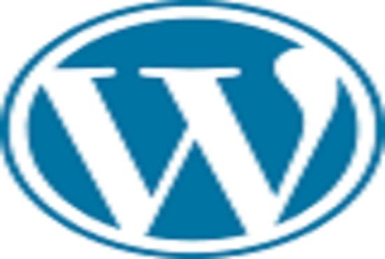 word press website design