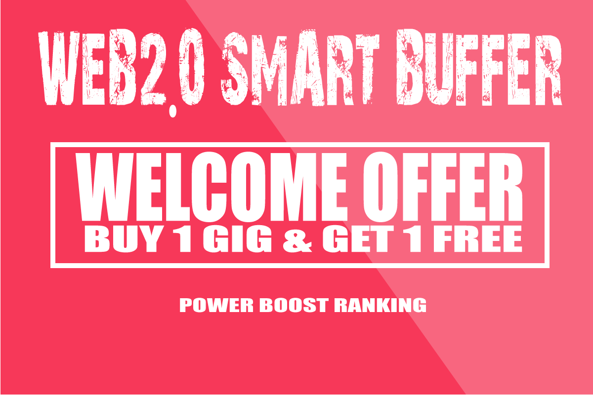 Create 10 Web 2.0 Buffer Blogs (DA 90 to 70) With Login Details within 24 hr