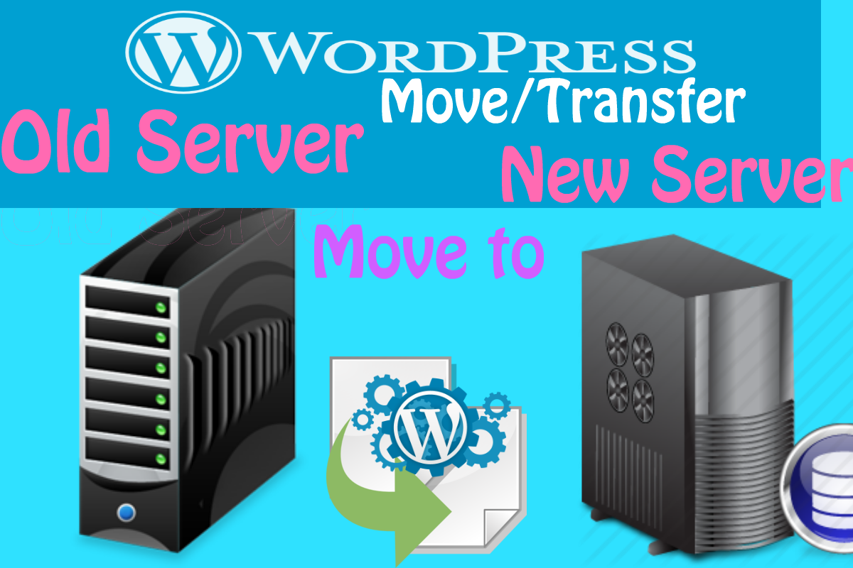 Move/Transfer/migrate WordPress in 6 hours