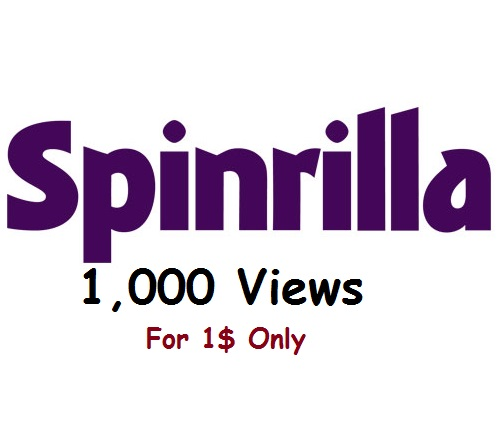 spinrilla 1,000 views to your mixtape