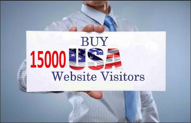 Get 15000 quality USA traffic to your website