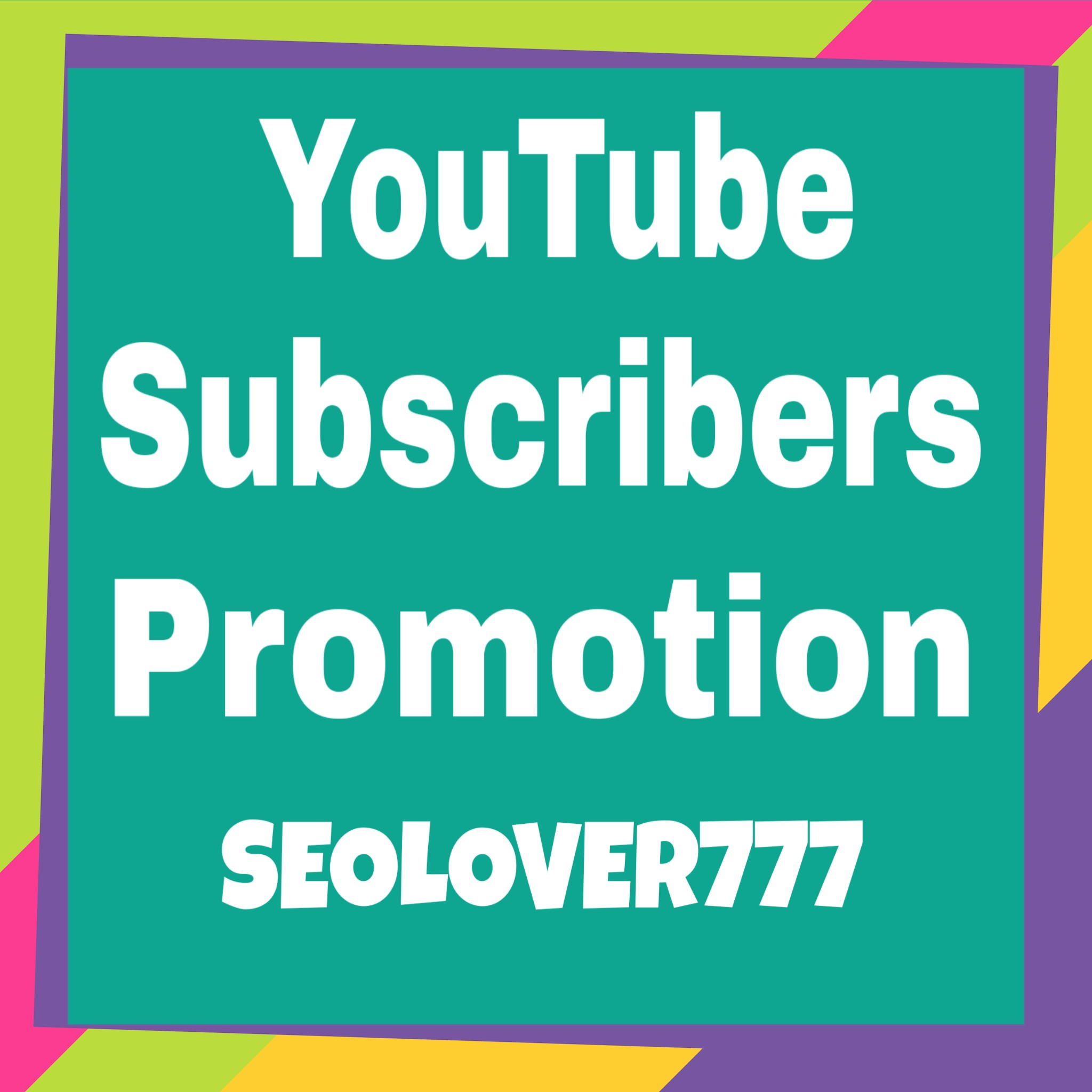 YouTube Promotion via real users only