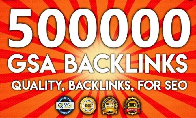 500,000 Gsa, Ser, Backlinks For Ranking Website, y...