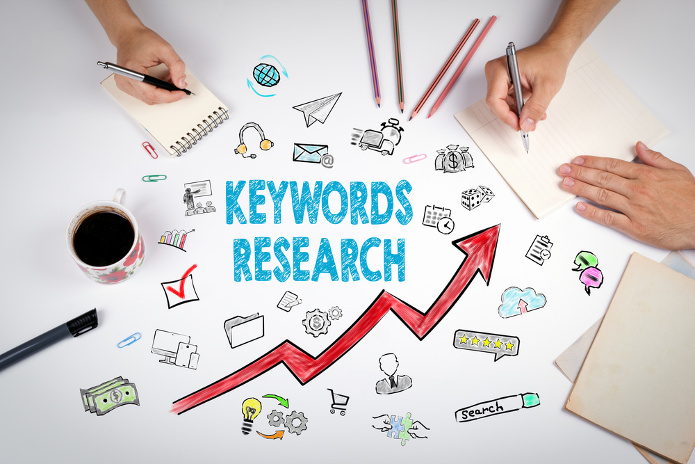 In-dept keyword research and report
