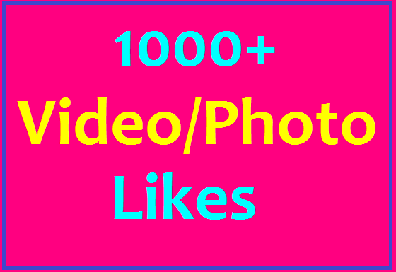 1000+ LIKES IN SOCIAL MEDIA HIGH QUALITY INSTANT DELIVERY