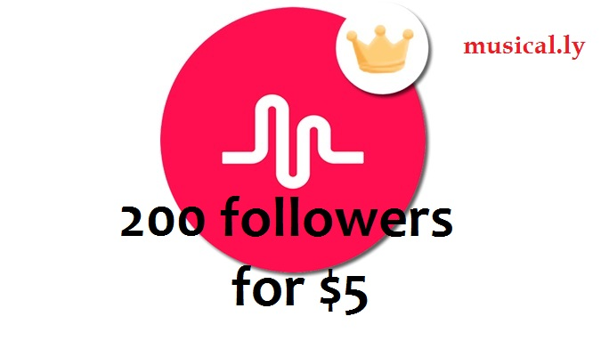 Greatest 200 Musical.ly Followers Will be Added to Your Account Just