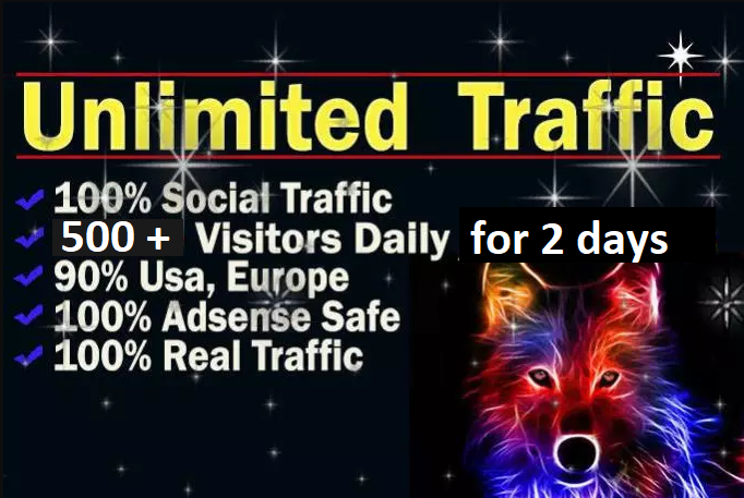 Unlimited Targeted Real Human Website Traffic
