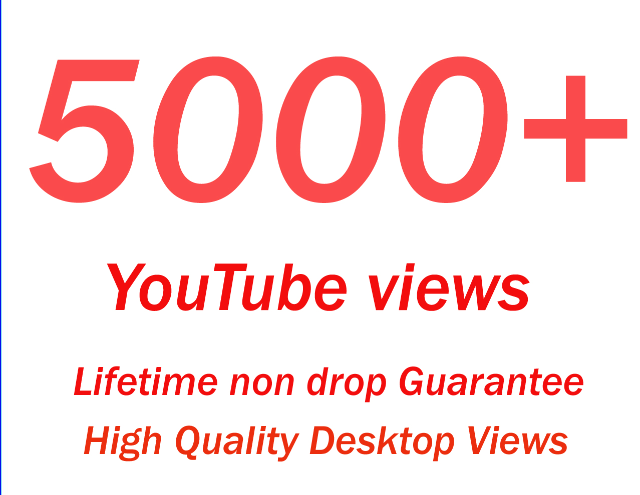 Promote your youtube video to real 5000+ High Retention audience by making it viral