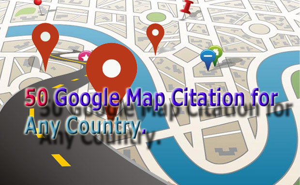 50 Local Google map Citation