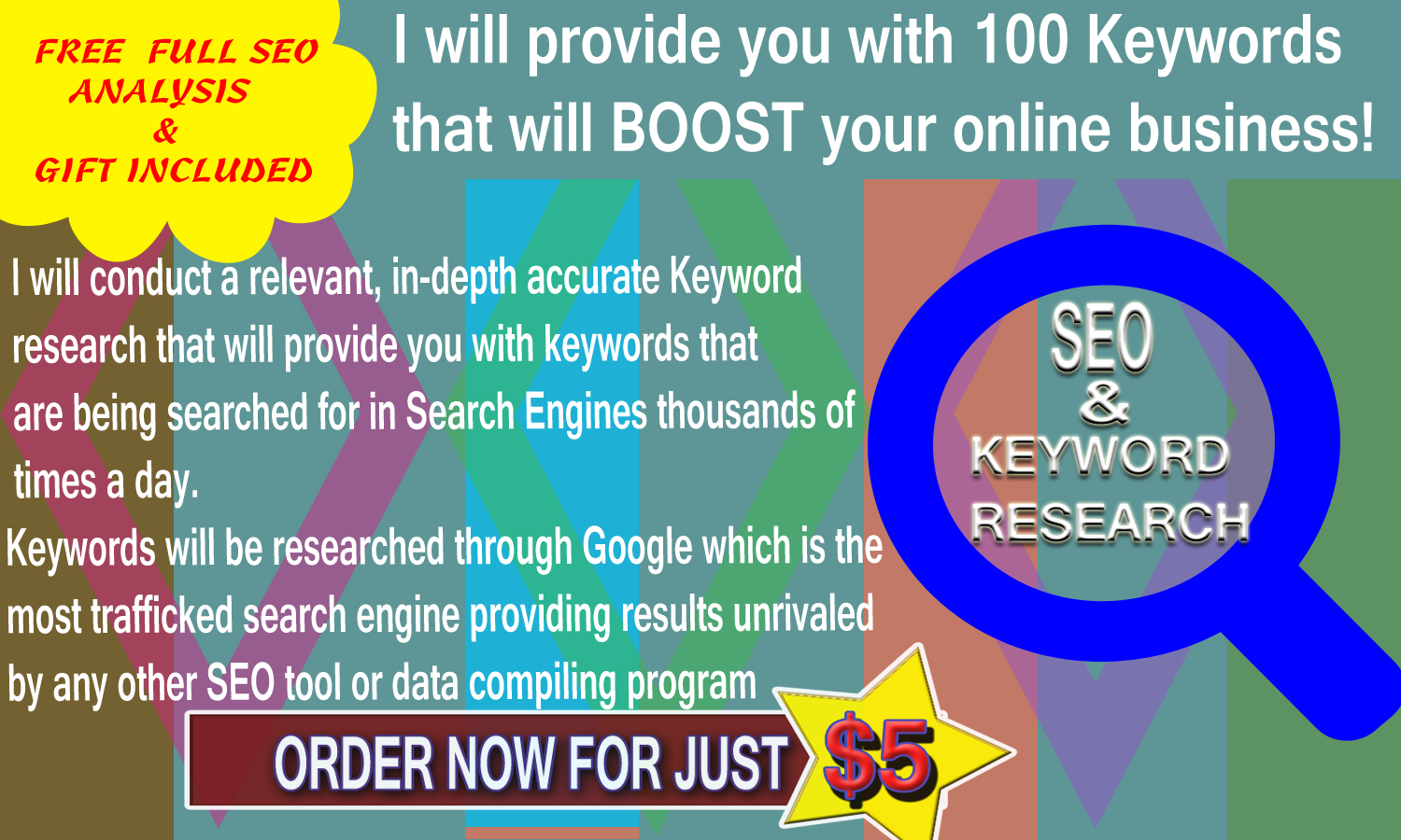 Provide You With 100 Keywords That Will Boost Your Website Traffic