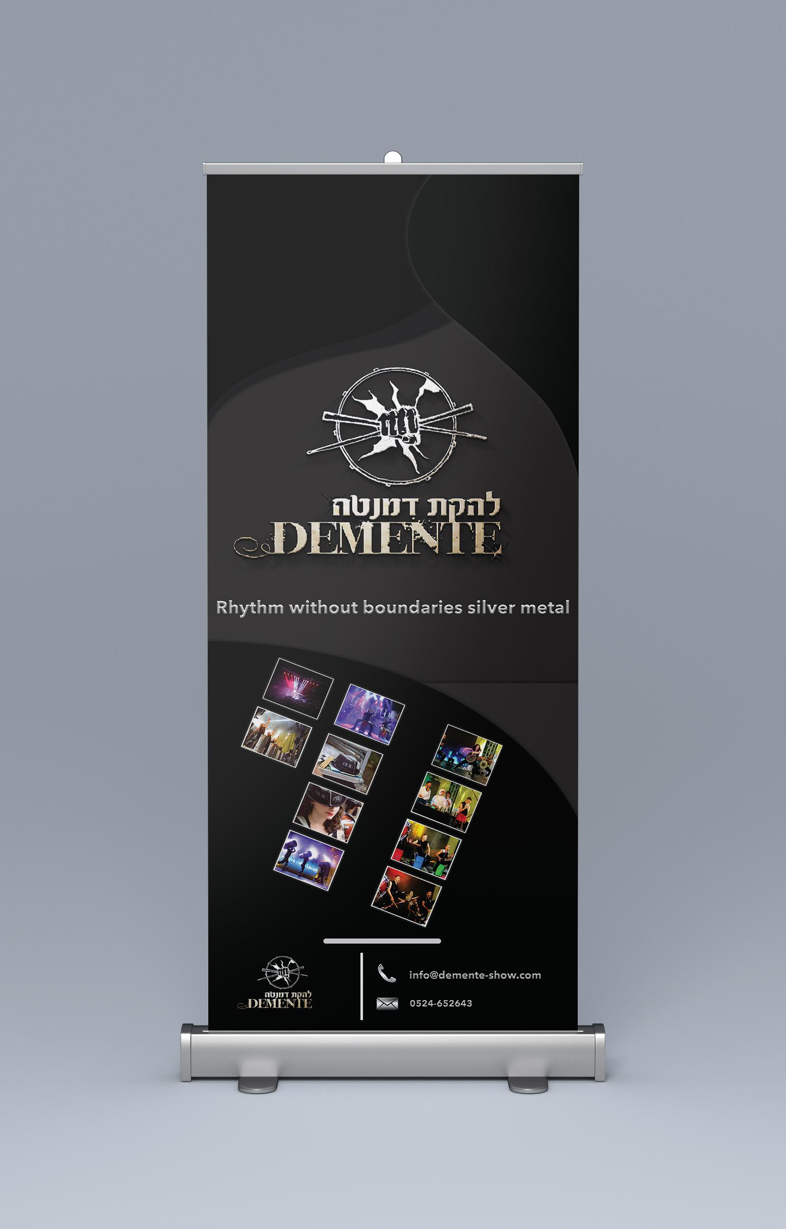 Design Amazing Social Media & Roll Up Banner
