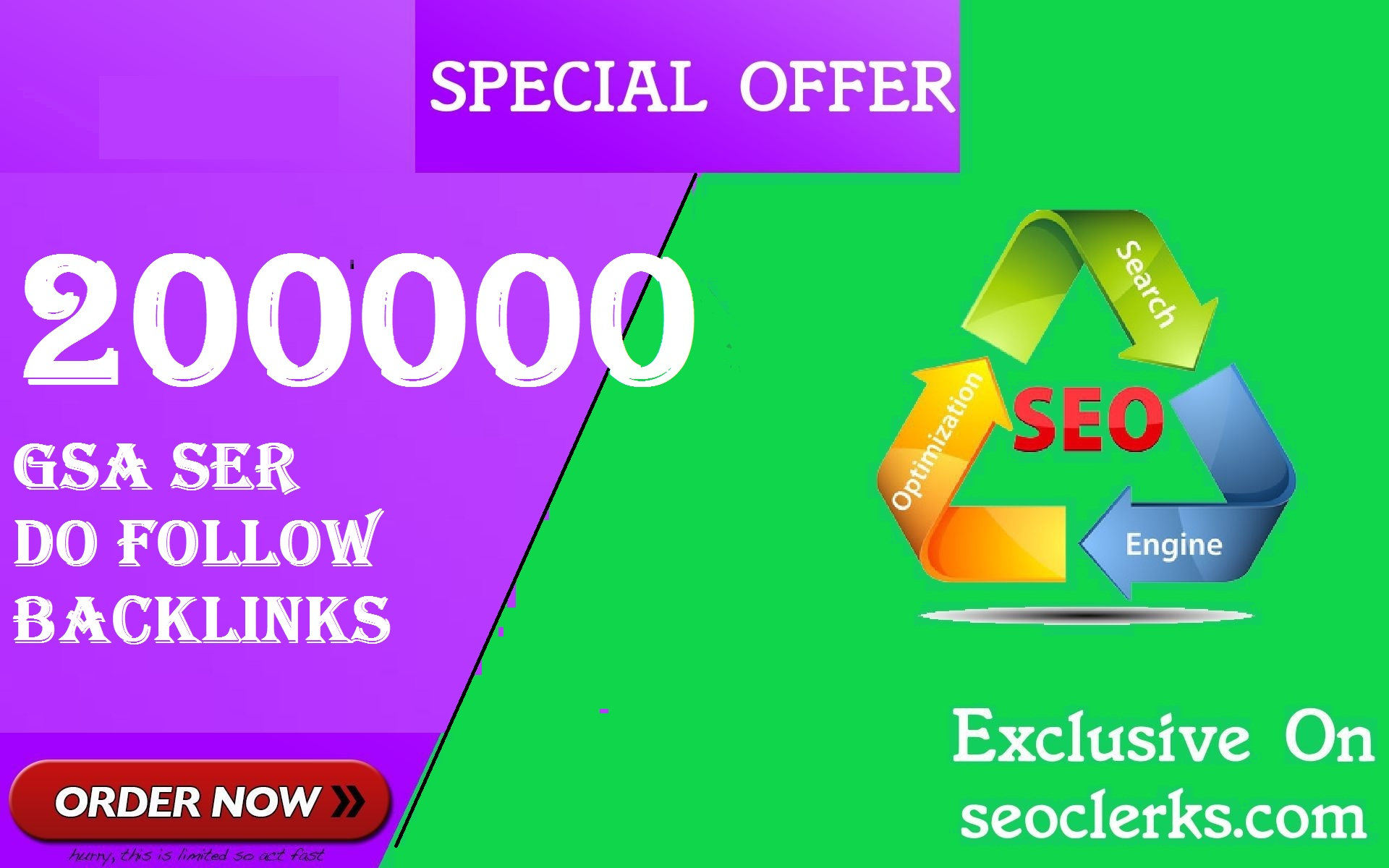 SEO 200,000 GSA Dofollow Links for Boosting Ranking in Google SERP
