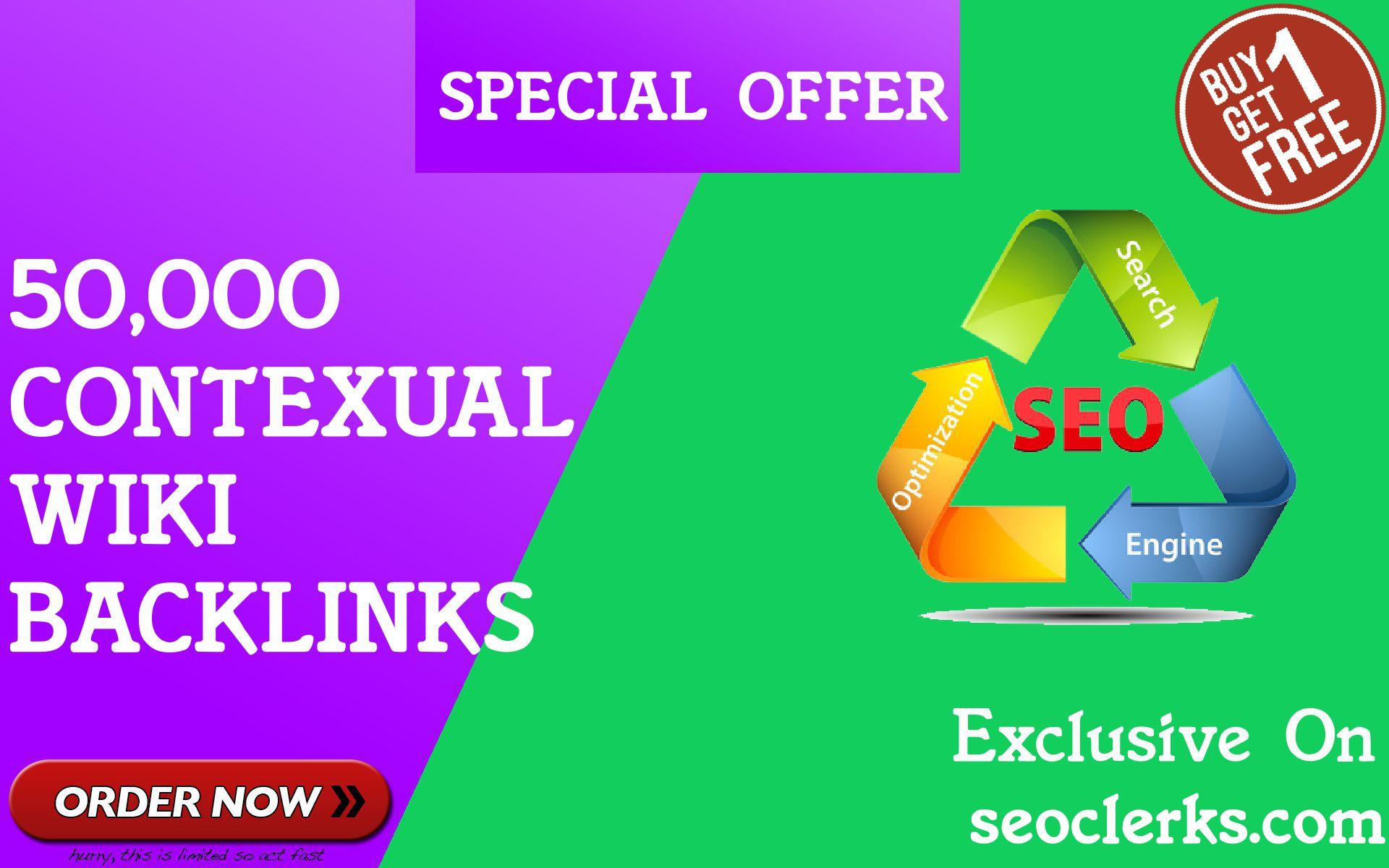 50,000 GSA SER WiKi links for Google SEO