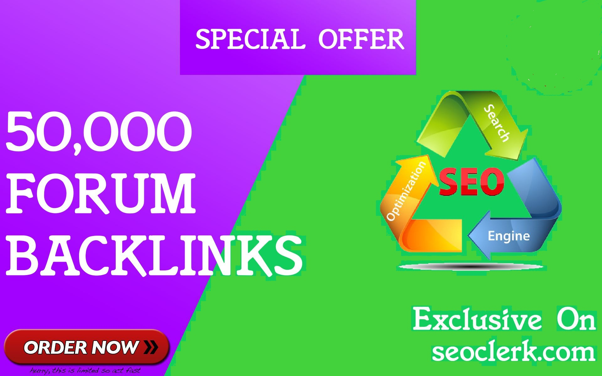 50,000 GSA SER Forum Backlinks for Google SEO