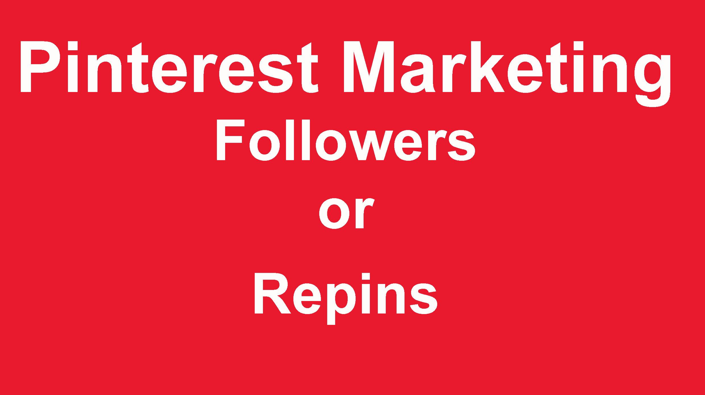 Buy 130 Pinterest Followers Or 50 Pinterest Repins
