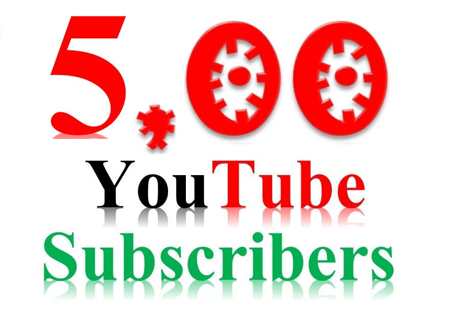 Instrant Start 500+  Youtube Subcribe on your Channel Never Drop