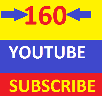 Non Drop 160+ YouTube ss.ubscribers