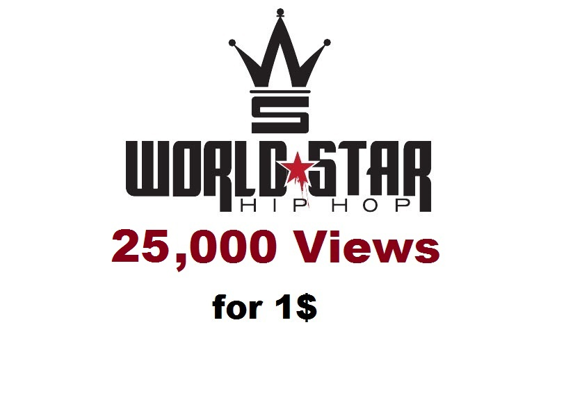 25,000 views worldstarhiphop hip hop wshh