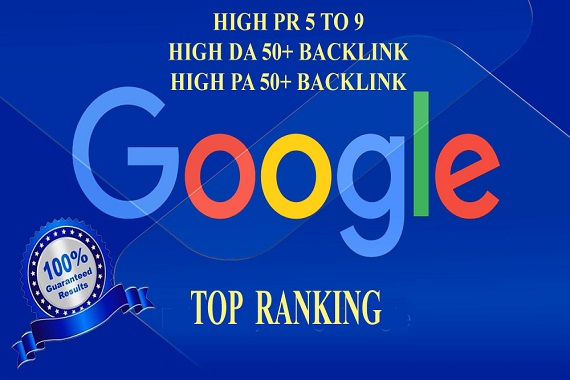 Do Any Kinds Of High Pr Backlink For Your Website And Google Ranking