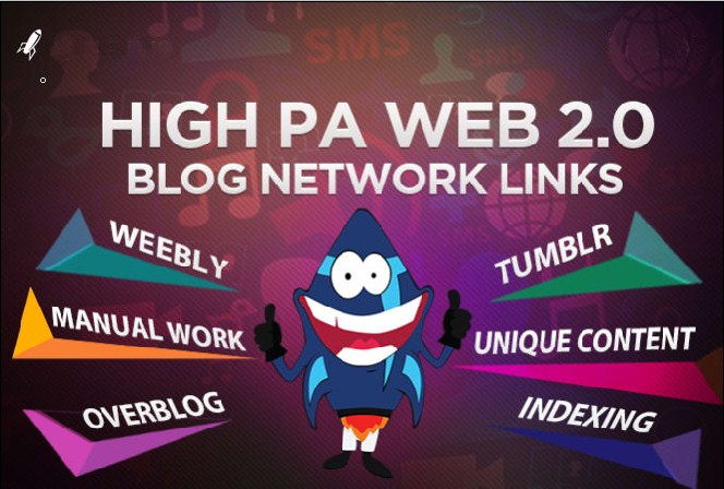 Do 40 web 2.0 high PR backlink for your website google top ranking