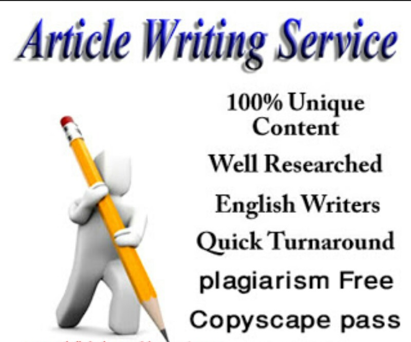 1000 words SEO optimized well researched article, blog post, Article writing and website content