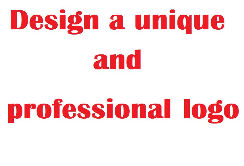 Design a unique and professional logo fast delivery