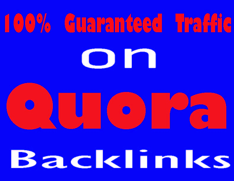 Google top rank your website with 45 High Quality Quora Answer Backlinks
