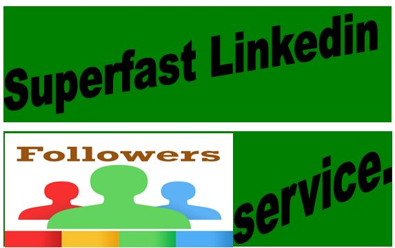 will GIVE BEST QUALITY 1000 BASIC LINKEDIN FOLLOWERS