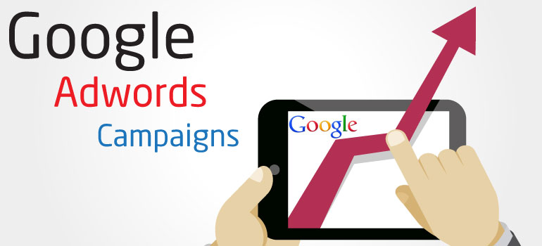 Advertising campaigns on Google ADWORDS FOR 15$