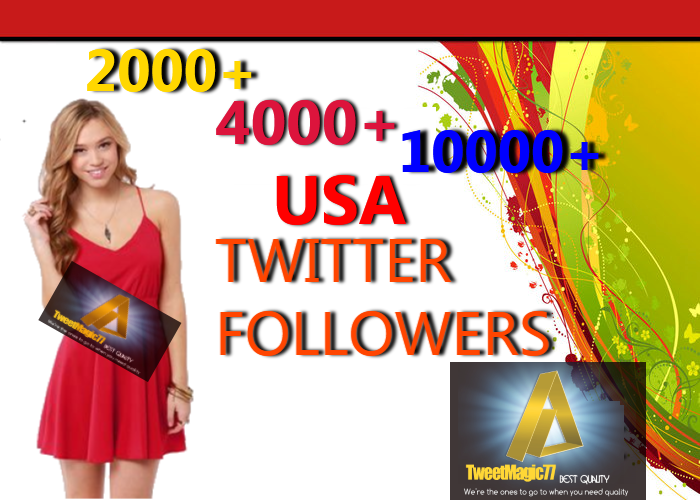 I'll Promote Your Twitter And Get You 2000 USA Fans