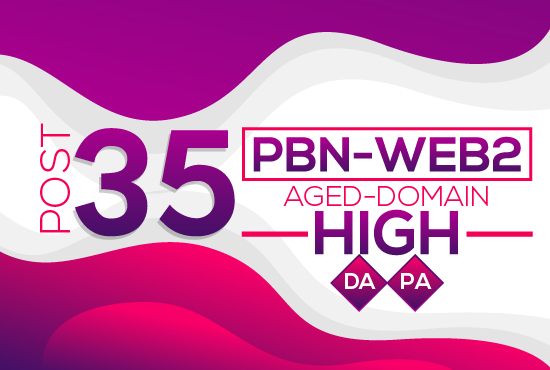Post 35 Pbn Web2 Aged Expire Domain High Da Pa