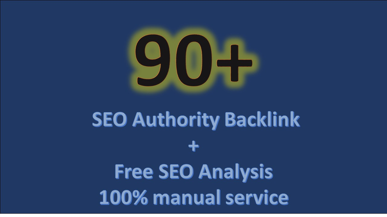 Do 90 Unique Pr10 SEO Backlinks On Da100 Sites Plus Bonus