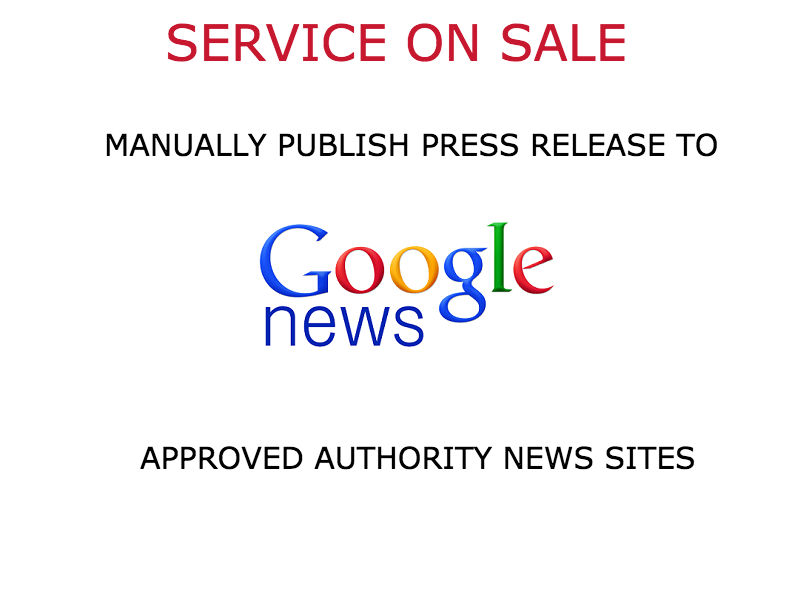 PUBLISH your Press Release on high authority news sit...