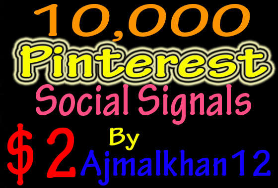 10,000+ SEO Friendly Powerful Social Signals From Top Social Media Important For SEO Ranking