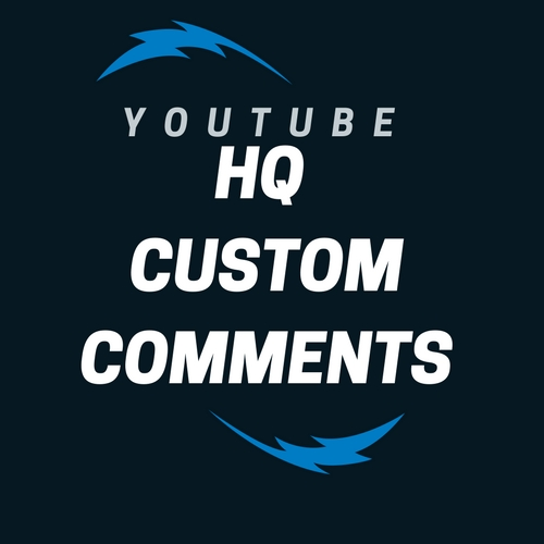 Add 60+ Hq Custom Comments for YT videos