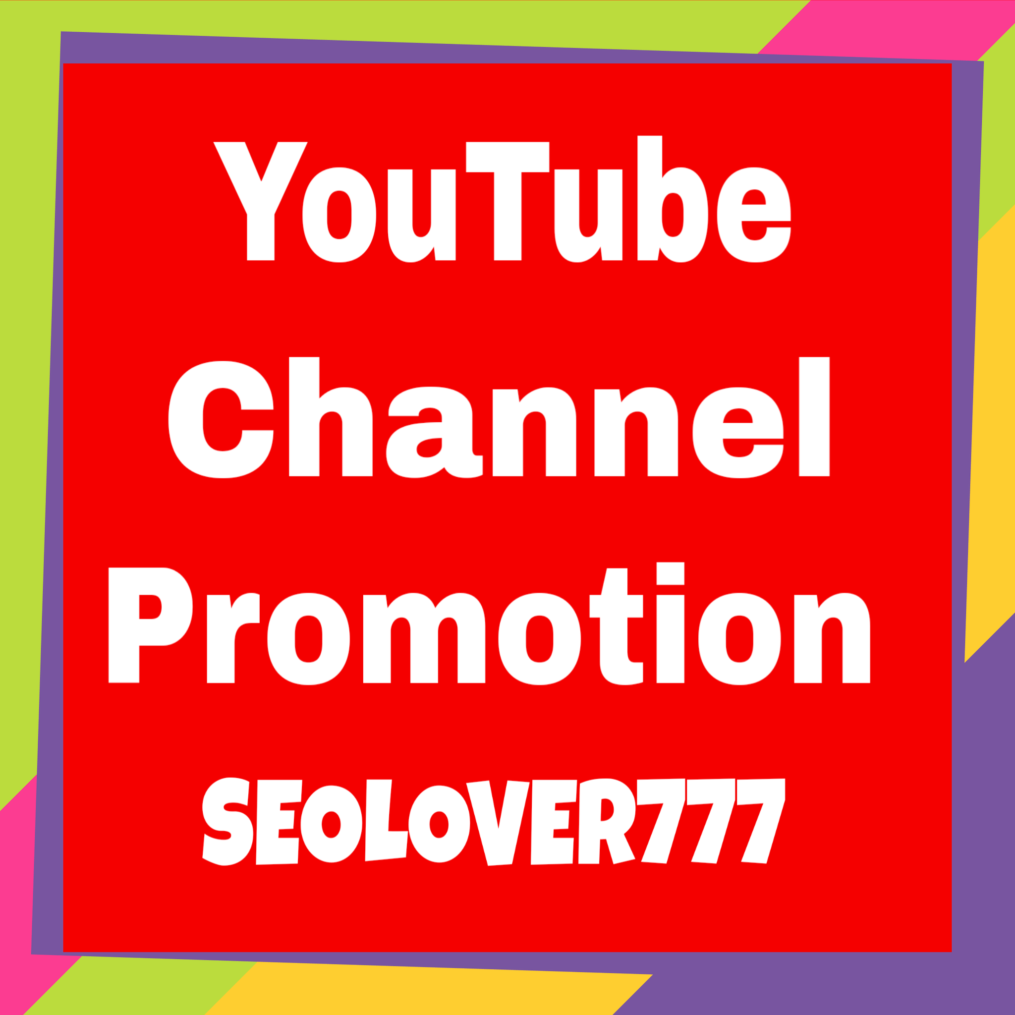 YouTube Organic Promotion and Marketing via real & active users only