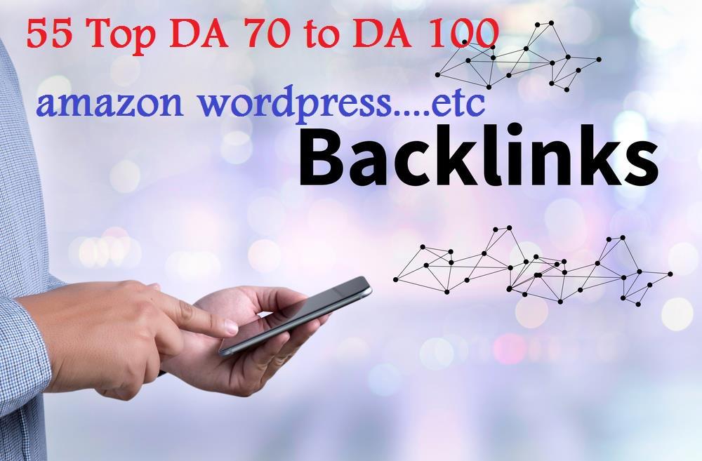 Boost your ranking on Google 55 TOP DA (Domain Authority) sites DA 70 to DA 100
