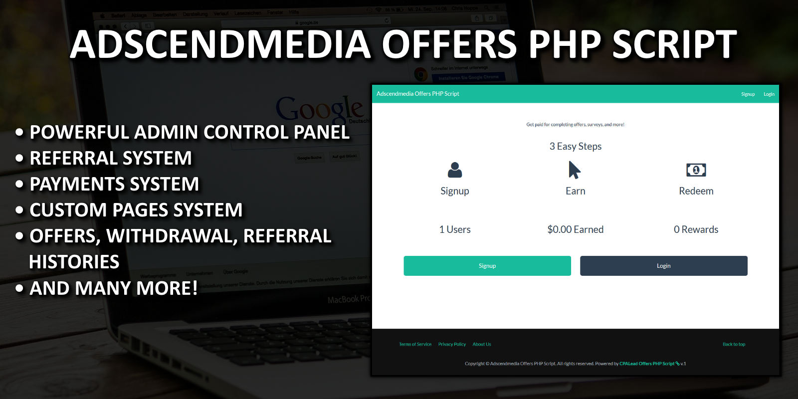 Adscendmedia Offers PHP Script