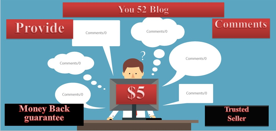 Provide You 52 Blog Comments