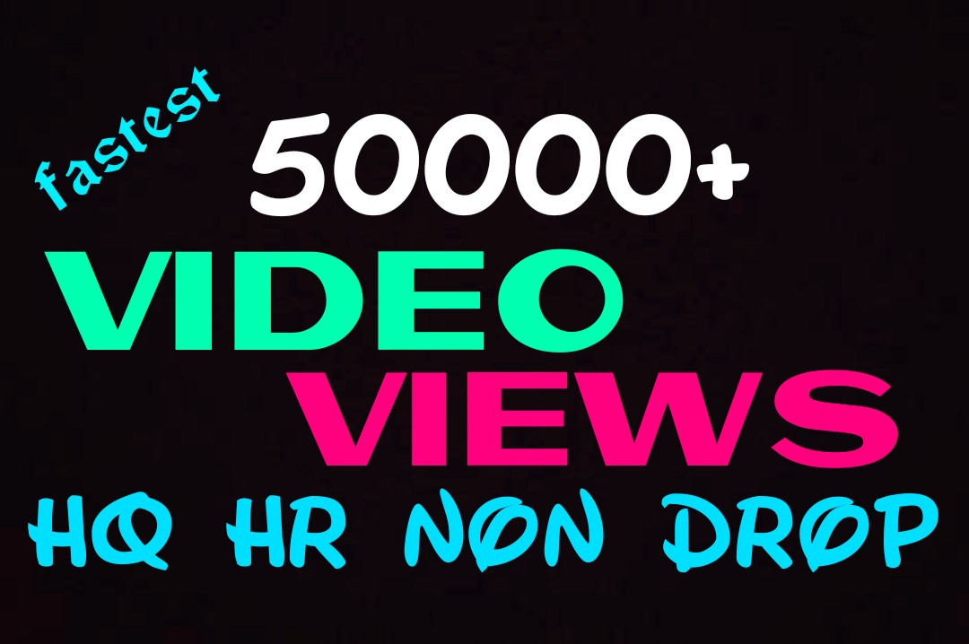 Add 50000+ worldwide video promotion professionally