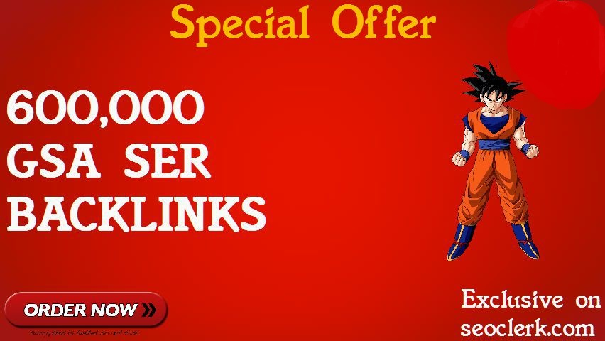 600,000 GSA SER BACKLINKS