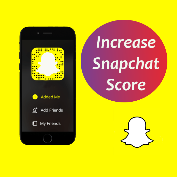 Add 2,000 snapchat score within Fast Delivery