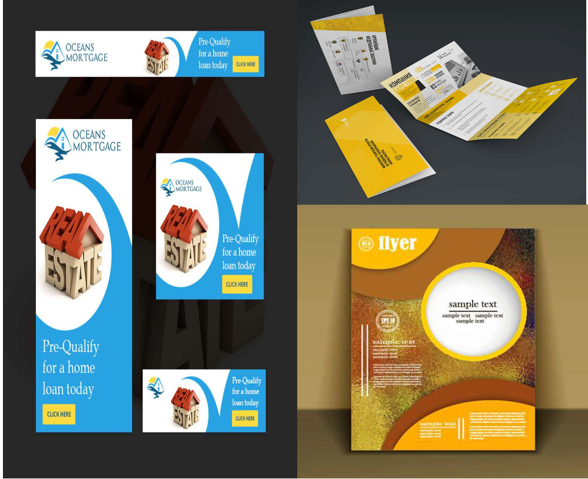 Design book cover, flyer