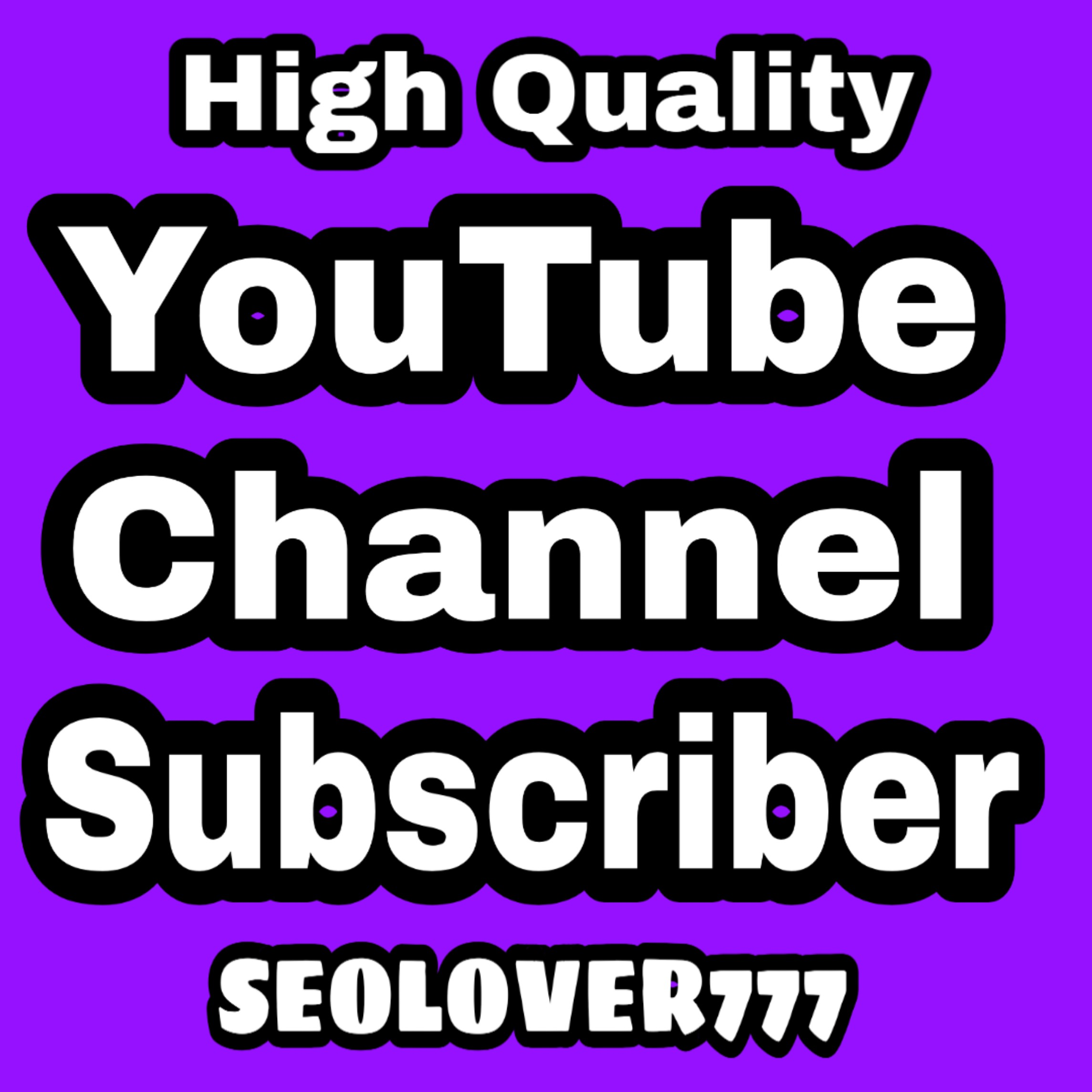 High Quality & Non Drop YouTube Promotion Via Real Users Very Fast only
