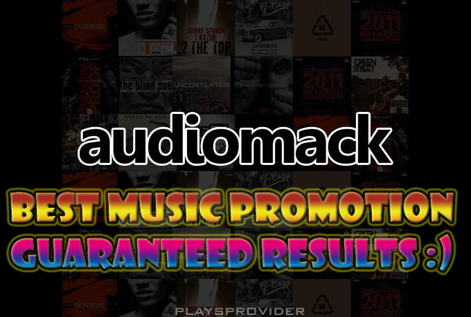 Promote your music at audiomack, minimum 2k plays
